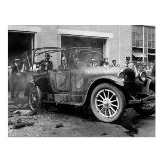 Voiture ancienne Fire, 1921 Carte Postale
