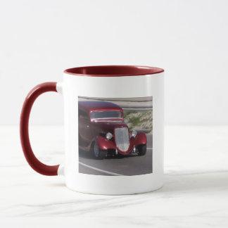 Voiture ancienne mug