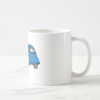 Voiture bleue (2CV) Mug