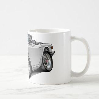 Voiture de blanc de Triumph TR6 Mug Blanc