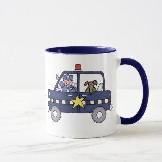 Voiture de police mug
