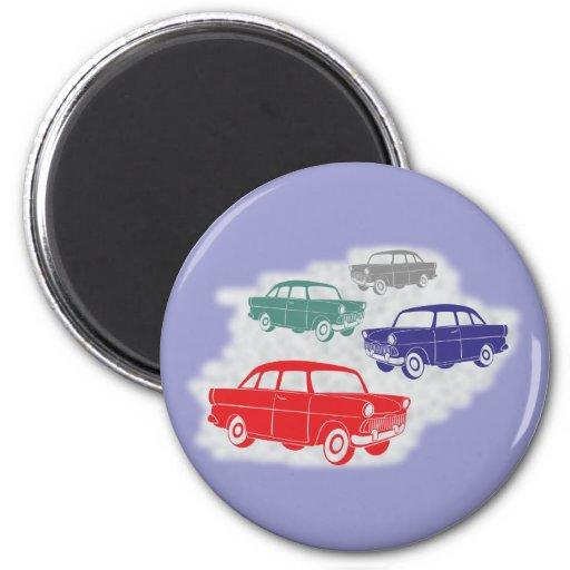 Voitures automobiles cars magnets pour réfrigérateur