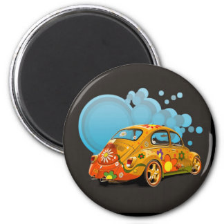 VOITURES MAGNET ROND 8 CM