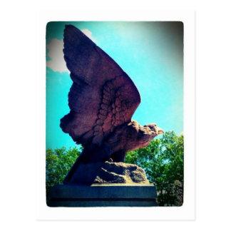 vol d'aigle carte postale
