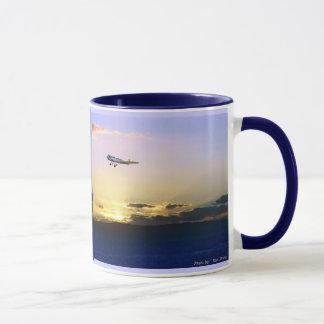 Vol de coucher du soleil, vol de coucher du soleil mug