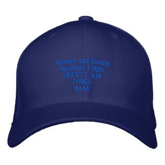 Vol de services d'aviateur et de famille chapeau brodé