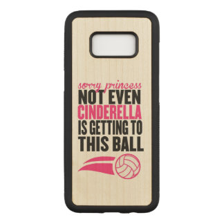 Volleyball : Princesse désolée Ball Coque Samsung Galaxy S8 Par Carved