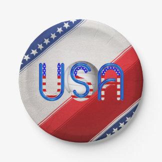 Volleyball SUPÉRIEUR aux Etats-Unis Assiettes En Papier