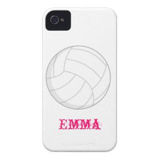 VollyBall Iphone 4 het Idee van de Gift van Girly iPhone 4 Hoesje