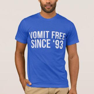 Vomi libre depuis 'le T-shirt 93