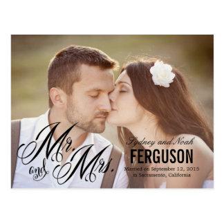 Voor altijd ons de Aankondiging van het Huwelijk - Briefkaart