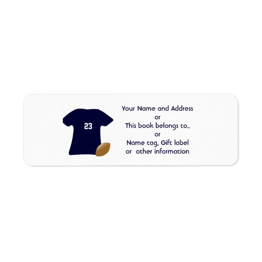 Vos étiquettes de adresse de retour de chemise du