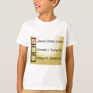 Vote de Jésus meilleur T-shirt