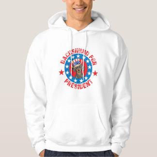 Vote pour le teckel veste à capuche