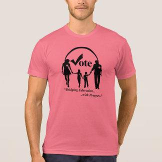 Vote pour l'éducation T de base T-shirt