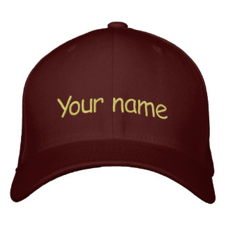 Votre casquette nommé casquette brodée