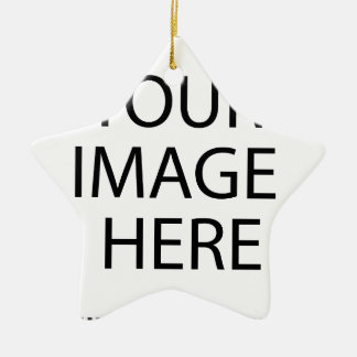 Votre image ici ornement étoile en céramique