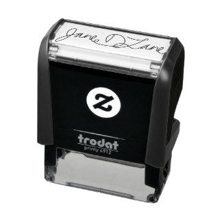 Votre individu de signature encrant des timbres tampon auto-encreur