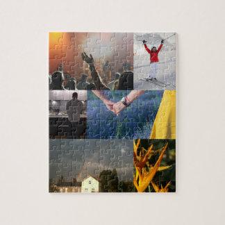 Votre propre puzzle de collage de photo