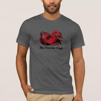 Votre T-shirt rouge de dragon de Sigil de Chambre