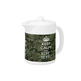 Votre vert olive de camouflage de Digitals des