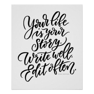 Votre vie est votre histoire poster