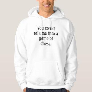 Voulez jouer aux échecs ? Mode de ballot d'échecs Veste À Capuche