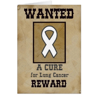 Voulu : Un traitement pour le cancer de poumon Carte De Vœux