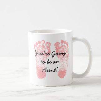 Vous allez être une tante, tasse de café