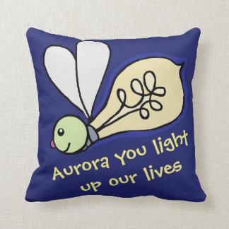 Vous allumez notre coussin de Lumière-dans-insecte
