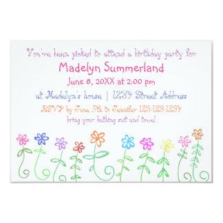 Vous avez été l'invitation de l'anniversaire de la carton d'invitation 8,89 cm x 12,70 cm