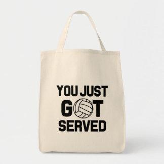 Vous avez juste obtenu le sac drôle servi de
