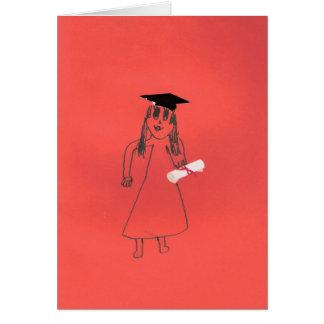 Vous avez reçu un diplôme ! carte de vœux