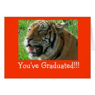 Vous avez reçu un diplôme ! ! ! carte de vœux