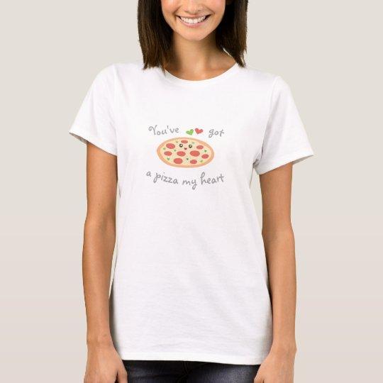 Vous avez une pizza mon calembour drôle mignon t-shirt
