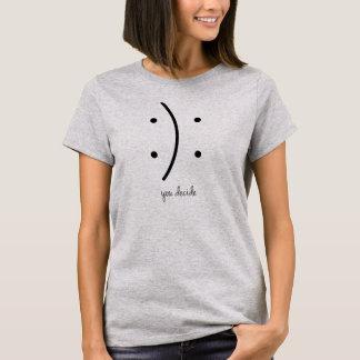 Vous décidez le T-shirt Tumblr