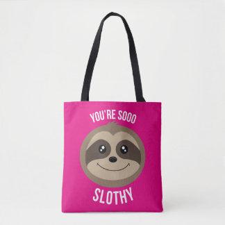 Vous êtes ainsi sac d'emballages rose mignon de