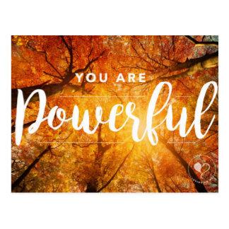 Vous êtes les cartes postales inspirées puissantes