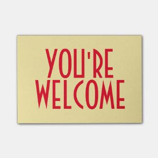 Vous êtes les notes bienvenues de Courrier-it®