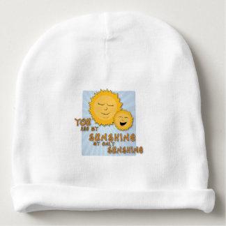 Vous êtes mon chapeau de bébé de soleil bonnet pour bébé
