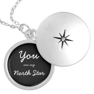 Vous êtes mon pendentif d'étoile du nord