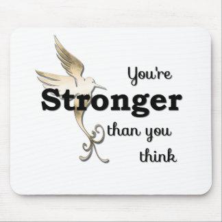Vous êtes plus forts que vous pensez tapis de souris