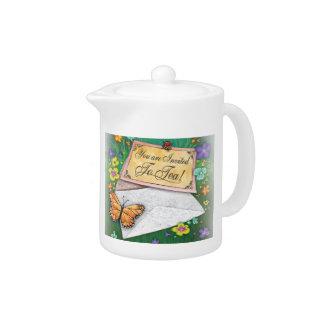 Vous êtes pot invité de thé