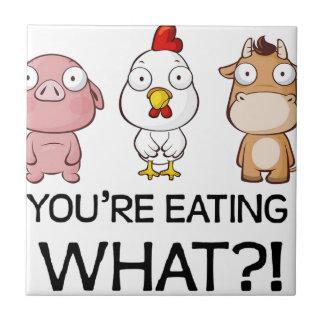 Vous mangez ce qui ? ! - Vous mangez ce qui ? ! - Petit Carreau Carré