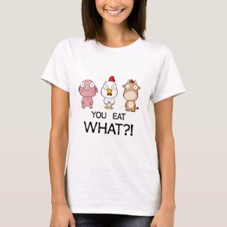 Vous mangez ce qui ? ! - Vous mangez ce qui ? ! - T-shirt