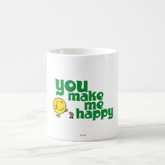 Vous me rendez heureux mug blanc