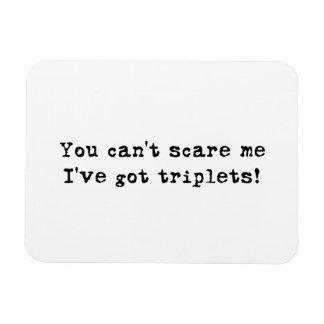 Vous ne pouvez pas m'effrayer que j'ai l'aimant de magnet en rectangle