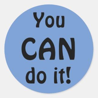 Vous pouvez le faire autocollant de motivation