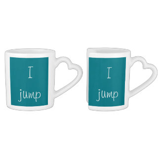 Vous sautez, je sautez mug