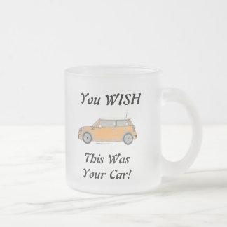 Vous SOUHAITEZ que c'ait été votre voiture ! Tasse Givré